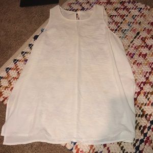 Boutique White Tank